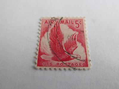 Prodávám známky USA 1958, Orlové, Letecká známka