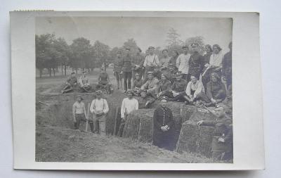 Fotopohlednice - první republika - Terezín - legie - Francie