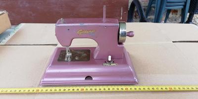 starý plechový dětský šicí stroj - GRITZNER