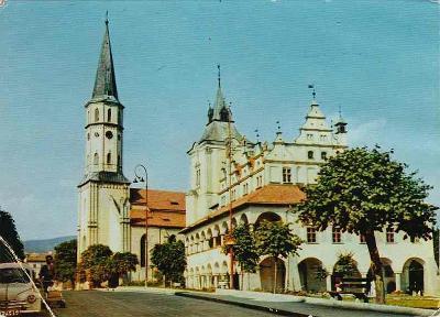 Levoča, kostel sv.Jakuba a radnice