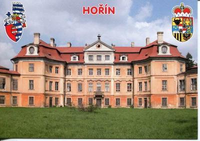 Hořín (Mělník), zámek, erb