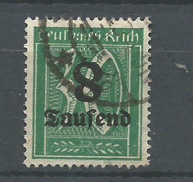 D.Reich   --  č. 278 I -- Zkoušeno -- 450,-Euro - obrácená 8