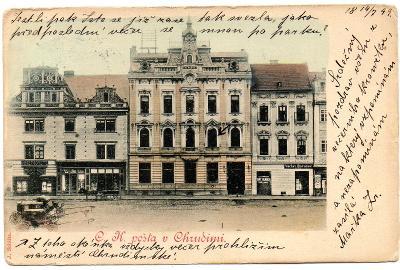 CHRUDIM DA POŠTA 1899
