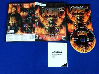 PC - DOOM 3 RESURRECTION OF EVIL expans.pack (retro 2005) Top