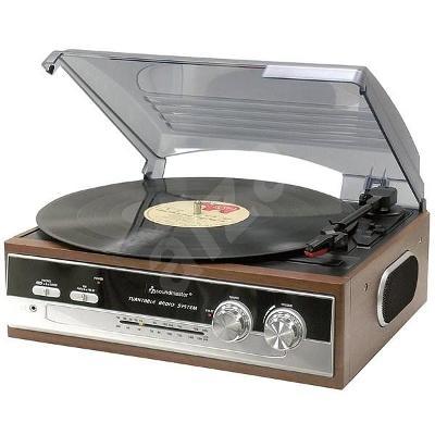 Nefunkční a pouze pro podnikatele: Gramofon Soundmaster PL186H