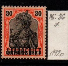 Německo-Sarre 1920 Mi. 36*