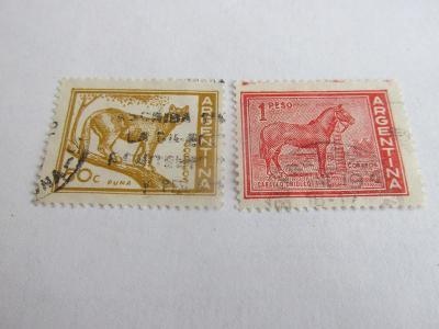 Prodávám známky Argentina 1959, Zvířata