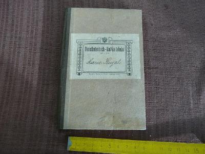 KNÍŽKA ČELEDNÍ 1915
