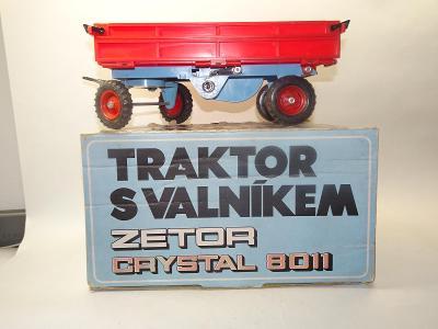 Valník k traktoru Zetor Crystal 8011 + krabice / KDN