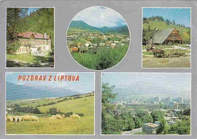 Liptov (Kúpele Korytnica-Lipt.Osada-Jánošíkova koliba-Ružomberok)