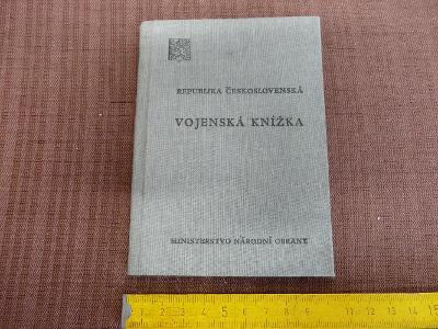 VOJENSKÁ KNÍŽKA 1951 ČÁSLAV