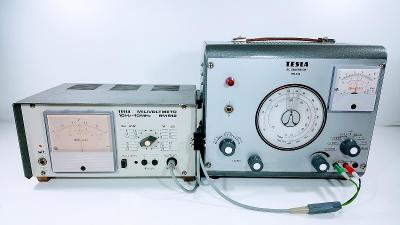 TESLA BRNO BM 512 - MILIVOLTMETR 10Hz-10MHz, ZE ZRUŠENÉHO TV- SERVISU.