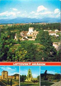 Liptovský Hrádok (zříc.hradu-ulica F.Krála-památník-pomník Stretnutie)