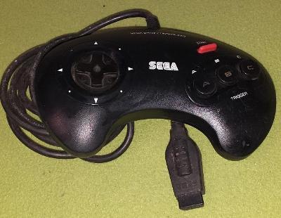 Gamepad pro konzoli SEGA MEGADRIVE model 1650-50 č. 8