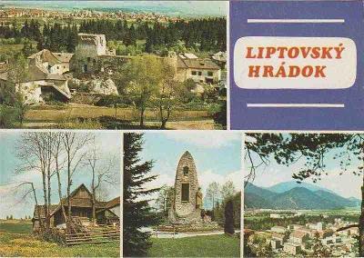 Liptovský Hrádok (zříc.hradu-pomník padlým v I.a II.sv.válce...)