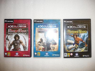 Hry Prince of Persia 3 kusy Ubisoft Exclusive