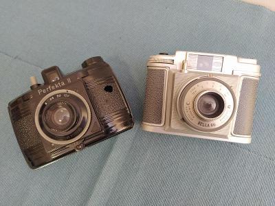 120 film camera: Bilora Bella 66 + Perfekta II