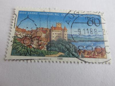 Prodávám známky Německo  1988, Hrady a zámky - Meersburg