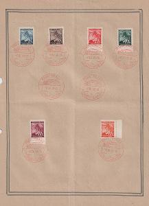 Protektorát, 41. podzimní Pražský vzorkový veletrh, pamětní list
