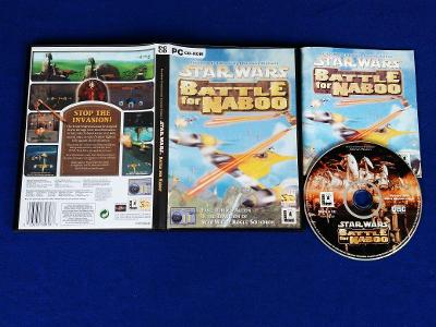 PC - STAR WARS BATTLE FOR NABOO (retro 2001) Top