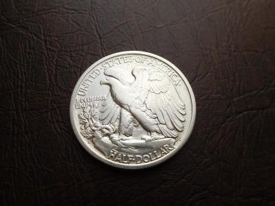 HALF.DOLLAR 1918 S stříbrná mince