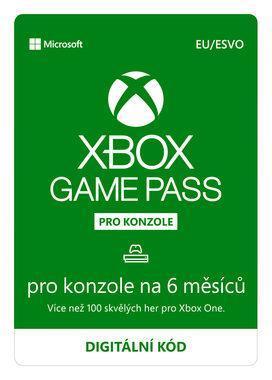 Microsoft Xbox Game Pass 6 měsíců