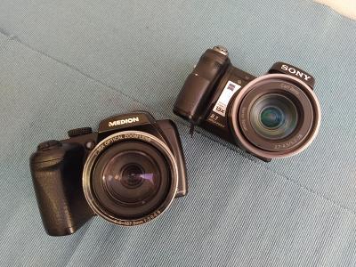 Medion MD 86929 + SONY DSC-H9
