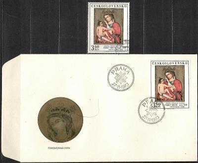 V9402   - FDC obálka prvního dne vydání + známky navíc