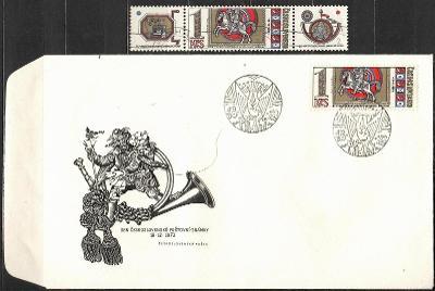 V9403   - FDC obálka prvního dne vydání + známky navíc