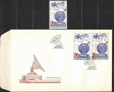 V9416   - FDC obálka prvního dne vydání + známky navíc