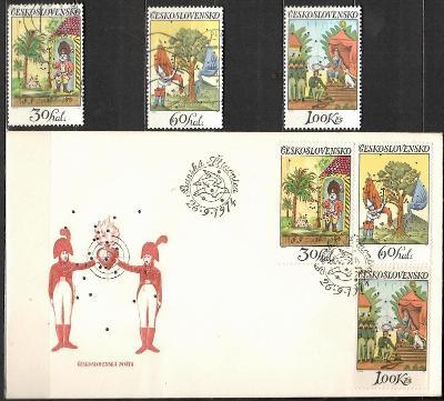 V9421   - FDC obálka prvního dne vydání + známky navíc