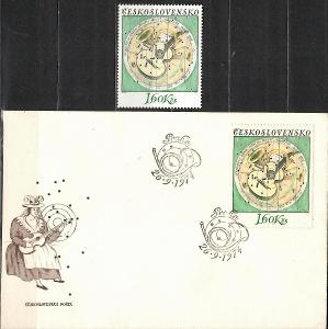 V9422   - FDC obálka prvního dne vydání + známky navíc
