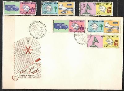 V9426   - FDC obálka prvního dne vydání + známky navíc