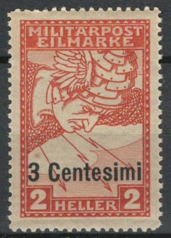 Rakousko / Österreich 1918 - FELDPOST - ITALIEN - ANK / Mi. 24 **