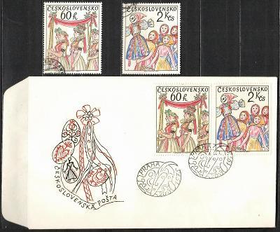 V9436   - FDC obálka prvního dne vydání + známky navíc