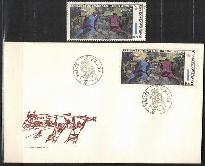 V9438   - FDC obálka prvního dne vydání + známky navíc