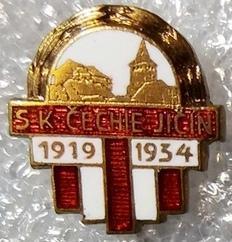 SK Čechie Jičín 1919-1934
