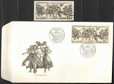 V9439   - FDC obálka prvního dne vydání + známky navíc