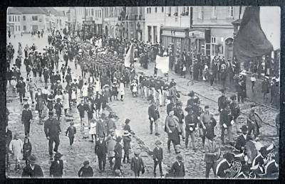 Rokycany kolem roku 1915 pěkný stav