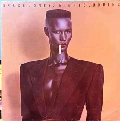 LP Grace Jones - Nightclubbing, 1981
