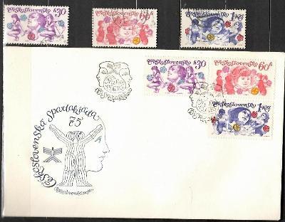 V9441   - FDC obálka prvního dne vydání + známky navíc