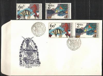 V9442   - FDC obálka prvního dne vydání + známky navíc