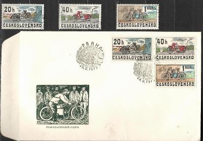 V9445   - FDC obálka prvního dne vydání + známky navíc