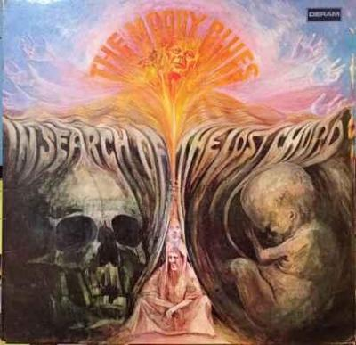 LP The Moody Blues - In Search Of The Lost Chord, 1968