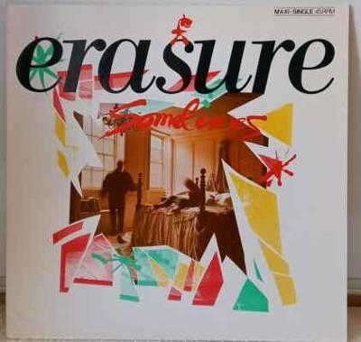Erasure - Sometimes, 1986 EX