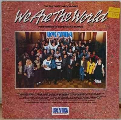 LP USA For Africa - We Are The World, 1985 EX