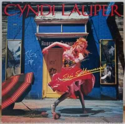 LP Cyndi Lauper - She's So Unusual, 1983 EX