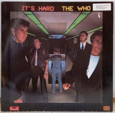 LP The Who - It's Hard, 1982 EX