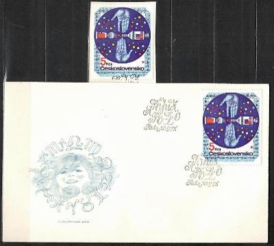 V9448   - FDC obálka prvního dne vydání + známky navíc