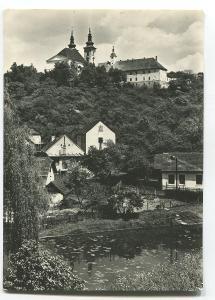 VRANOV, o. Brno-venkov - staré domy, obec - 836 obyvatel, kostel